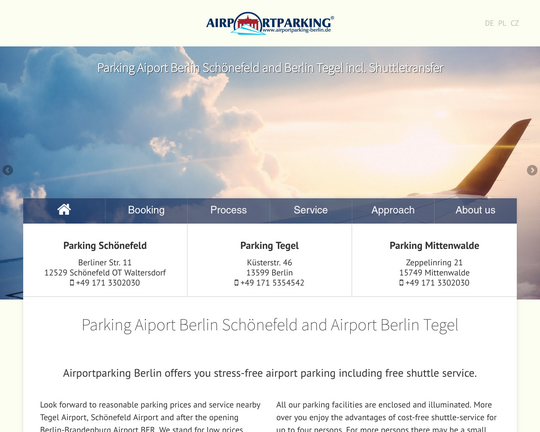 Airportparking-Berlin Logo